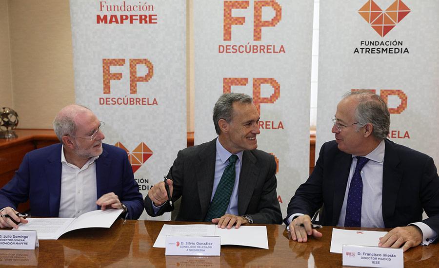 """El proyecto """"Descubre la FP"""" incluye al IESE como socio académico"""