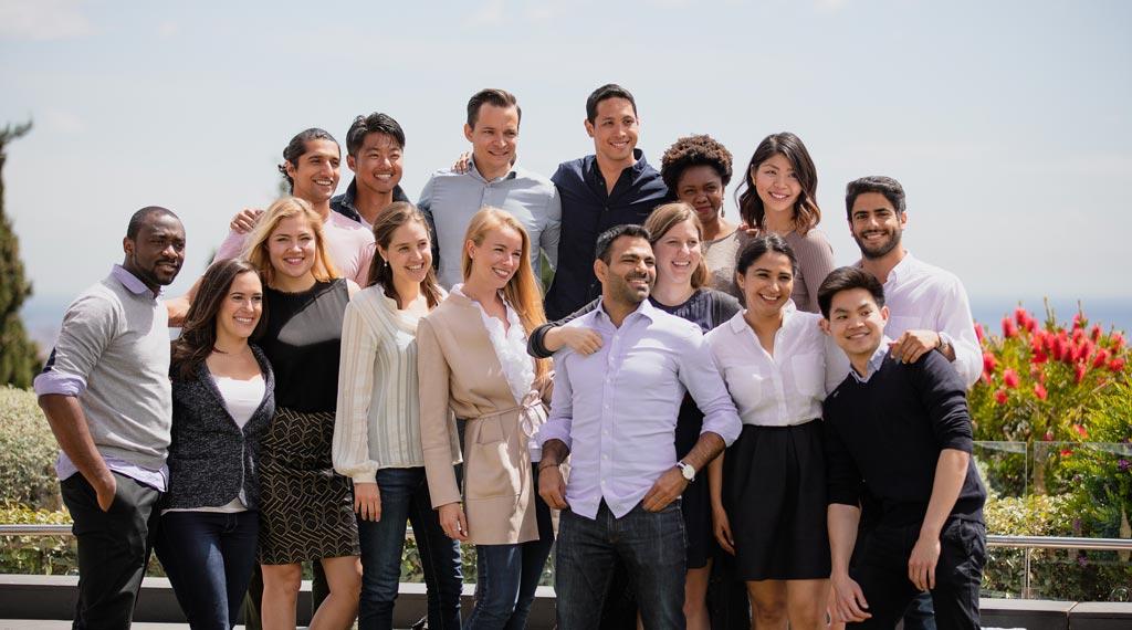 Alumnos del MBA del IESE, considerado el 3º mejor de Europa por el FT
