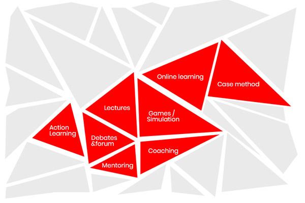Un mosaico de metodologías