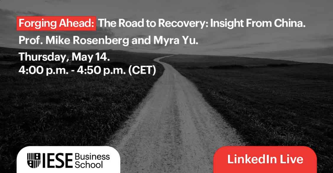 The Road to Recovery: Insight from China