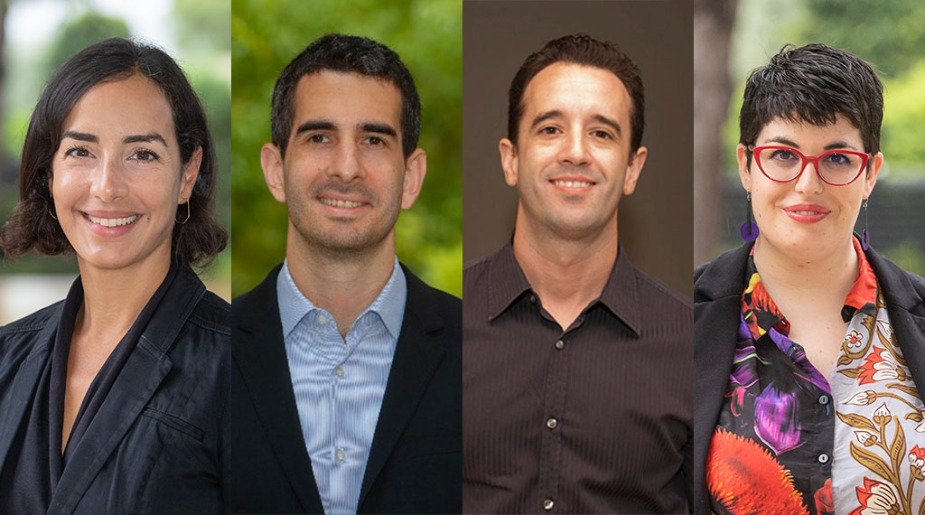 Damos la bienvenida a cuatro nuevos profesores a nuestro claustro