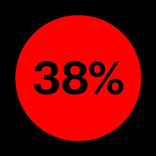 38%-Recruiting