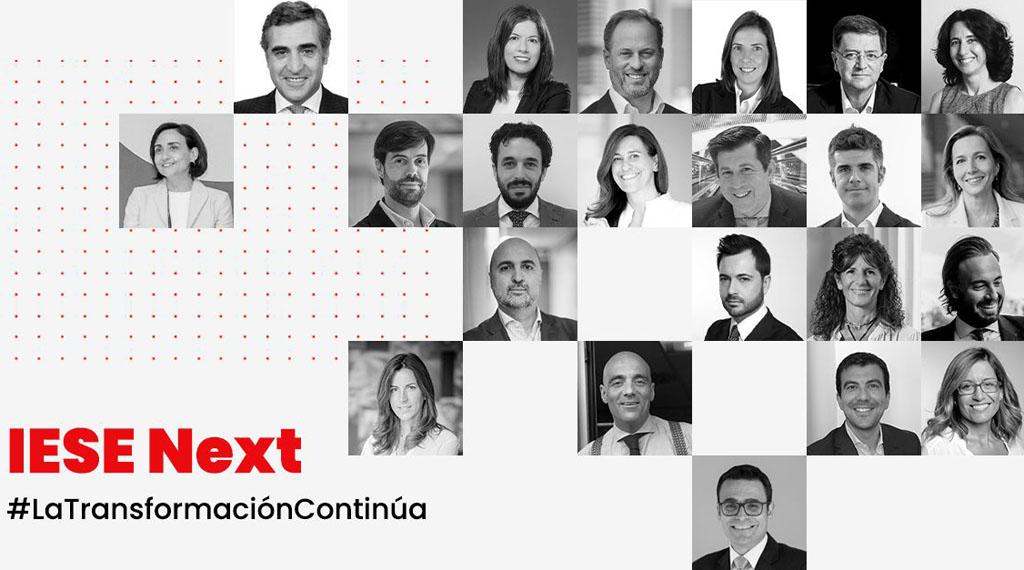 Quién es quién en IESE Next, el evento digital del IESE sobre transformación económica