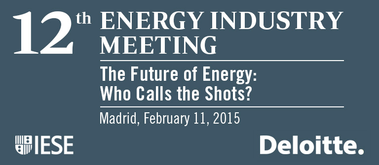 12th Energy Industry Meeting