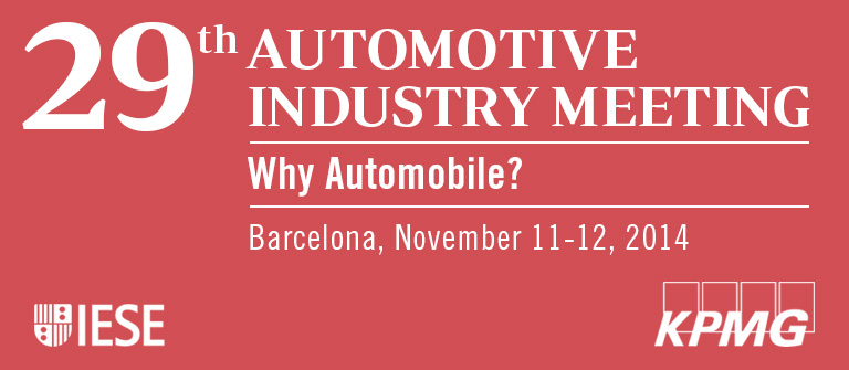 29th Automotive Industry Meeting