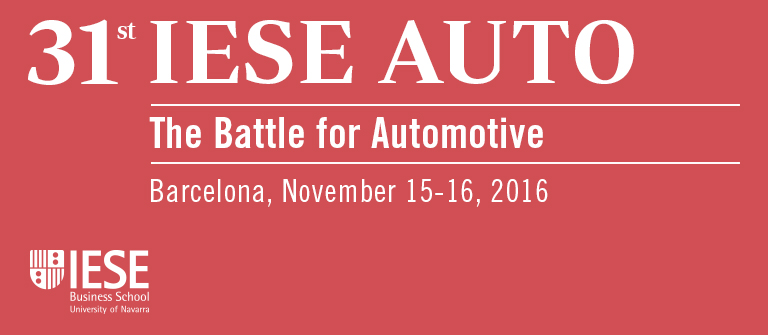 31 IESE Auto - IESE Business School