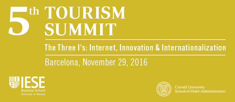 5th Tourism Summit - IESE Business School