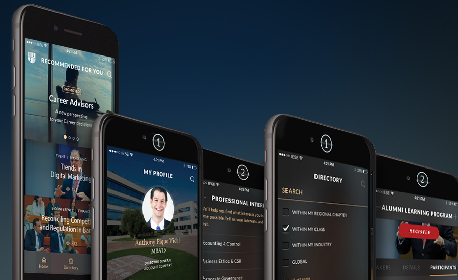 Alumni App | IESE Business School