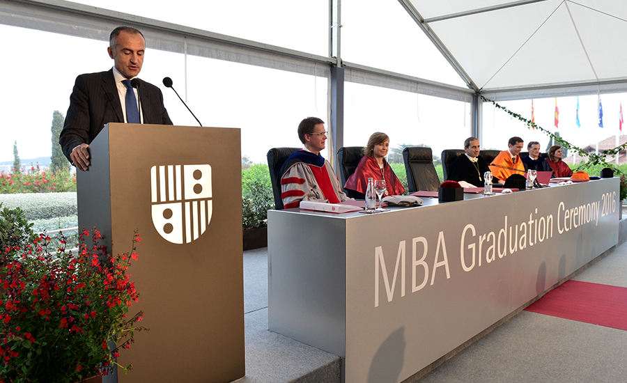 IESE MBA Graduation Ceremony 2016