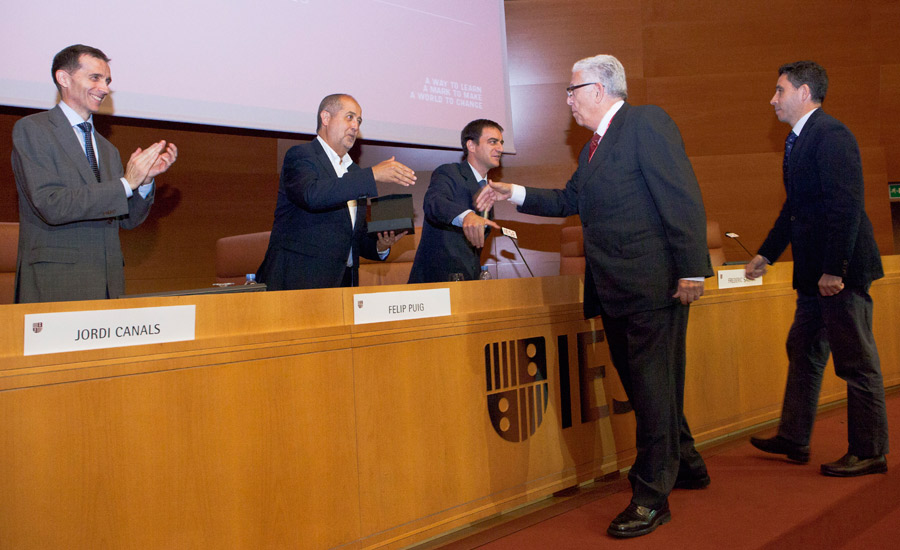 Industrial Excellence Award Spain 2015