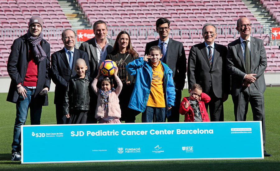 Presentación del SJD Pediatric Cancer Center Barcelona en el Camp Nou | IESE Business School