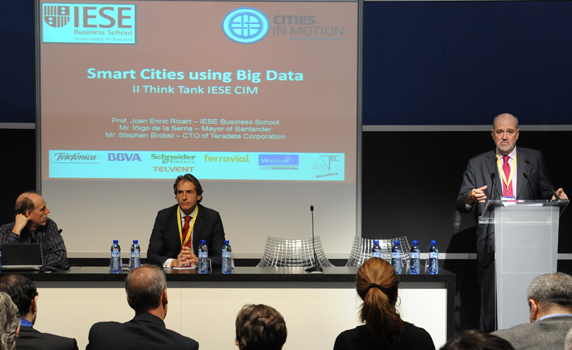 Smart Cities using Big Data