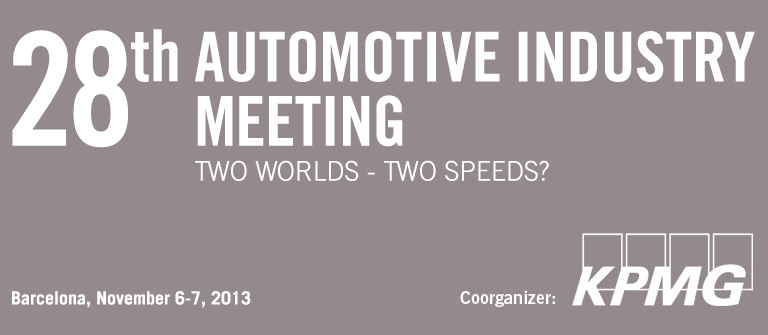 main themes program 28th automotive industry meeting iese