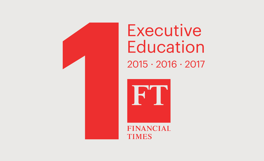 IESE Ranked 1 st  in World for Executive Education by  FT  for 3 rd  Straight Year