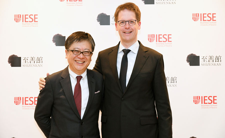 IESE Partners with Japan's Shizenkan University