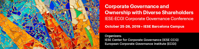 Center for Corporate Governance (IESE CCG) | IESE Business School