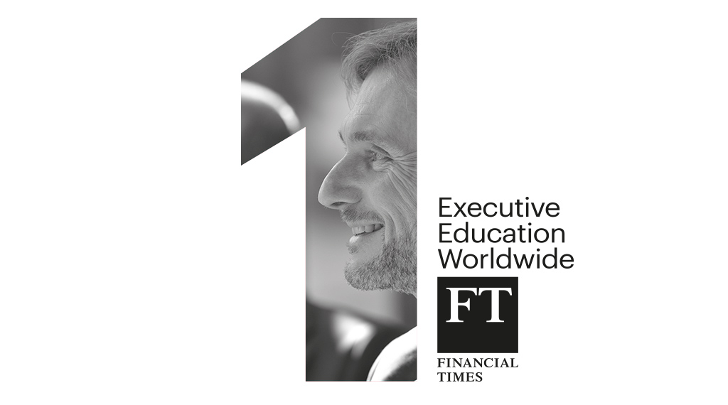 IESE ranked 1st in the world for executive education by FT for record 5th year