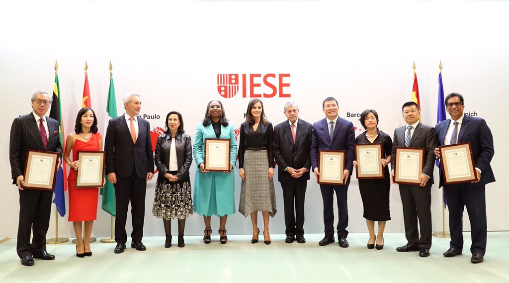 Awards for business leaders from China, Nigeria and South Africa