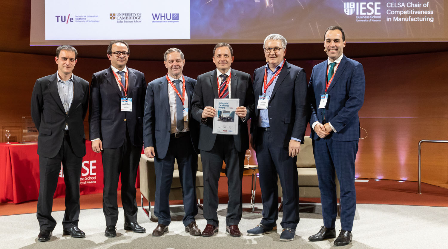 Spain's Grifols wins European Industrial Excellence Award 2019