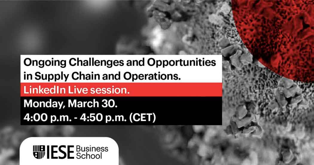 Ongoing Challenges and Opportunities in Supply Chain and Operations
