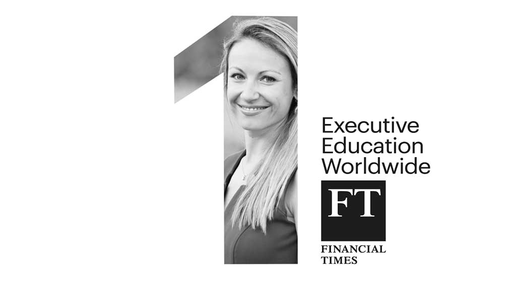 IESE ranked 1st in world for Executive Education by FT for record 6th year