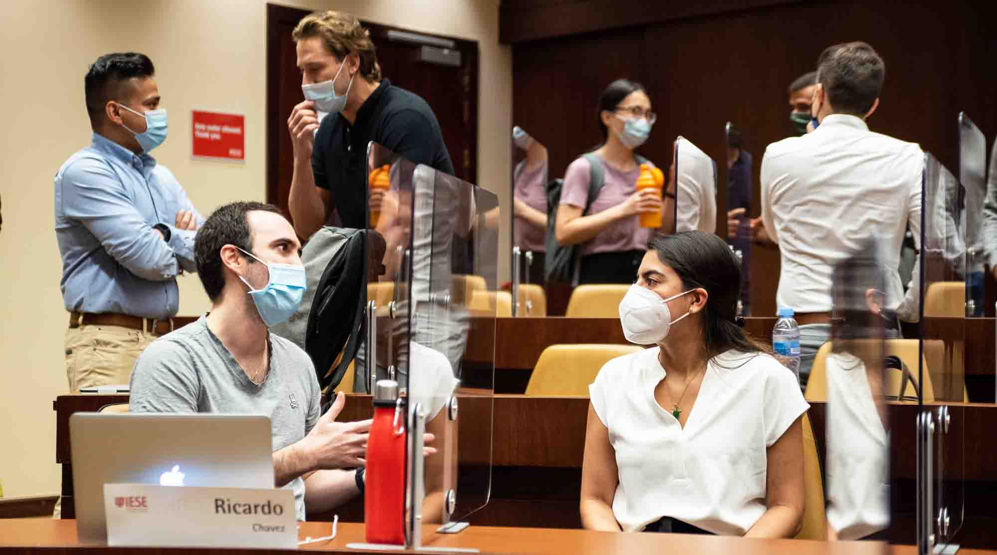 More than 500 IESE master program students begin face-to-face courses